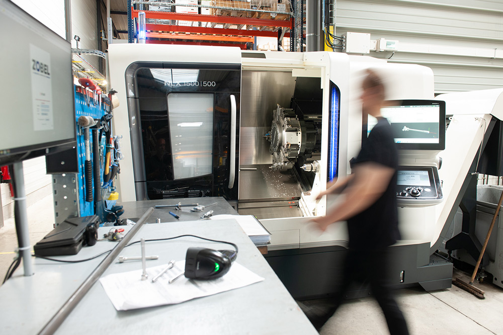 THE ZOBEL SUPPLY CHAIN - MACHINING The nuts and bolts of quality, efficiency and speedy production