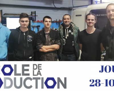 Jour 1 : Ecole de la production